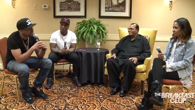 Louis Farrakhan Interview at Power 105.1