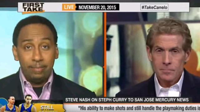 ESPN First Take Stephen Curry & Warriors Make NBA History!