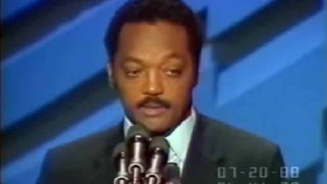 Jesse Jackson – 1988 Presidential Campaign DNC Speech