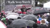 Will Johnson speaks during The #WALKAWAY March in Washington D.C.